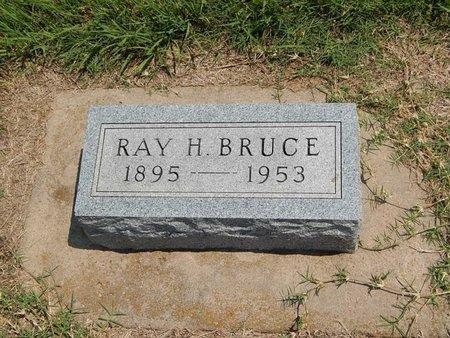 BRUCE, RAY H - Grant County, Oklahoma | RAY H BRUCE - Oklahoma Gravestone Photos