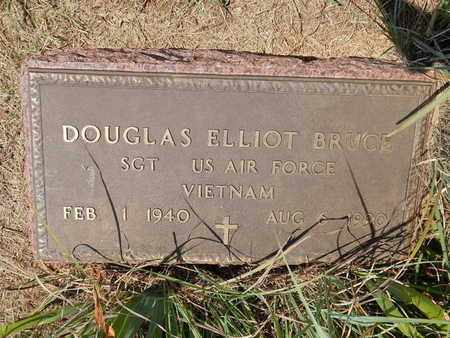 BRUCE (VETERAN VIET), DOUGLAS ELLIOT - Grant County, Oklahoma | DOUGLAS ELLIOT BRUCE (VETERAN VIET) - Oklahoma Gravestone Photos