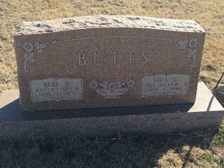 BUTTS, LOIS C - Grant County, Oklahoma | LOIS C BUTTS - Oklahoma Gravestone Photos