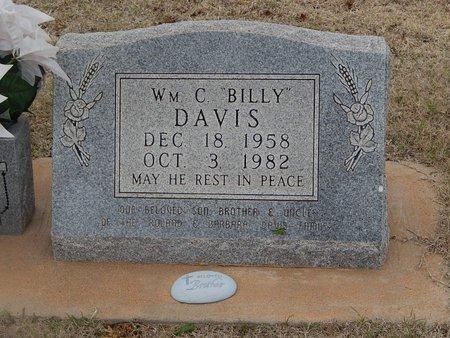 "DAVIS, WILLIAM C ""BILLY"" - Grant County, Oklahoma | WILLIAM C ""BILLY"" DAVIS - Oklahoma Gravestone Photos"
