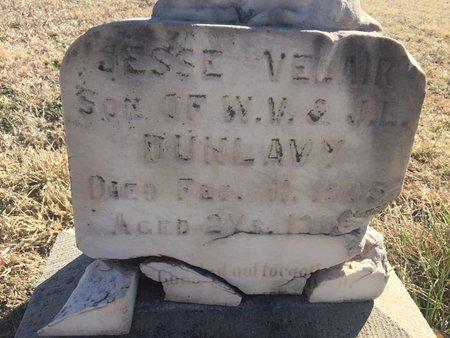 DUNLAVY, JESSE VELAIR - Grant County, Oklahoma | JESSE VELAIR DUNLAVY - Oklahoma Gravestone Photos