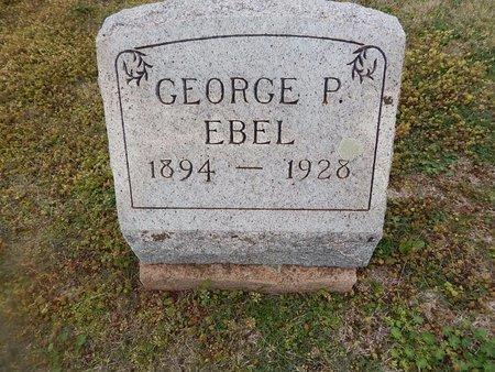 EBEL, GEORGE P - Grant County, Oklahoma   GEORGE P EBEL - Oklahoma Gravestone Photos
