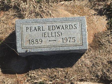 EDWARDS, PEARL - Grant County, Oklahoma | PEARL EDWARDS - Oklahoma Gravestone Photos