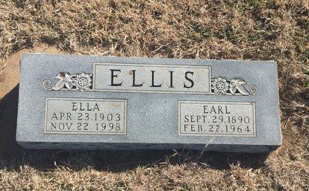 ELLIS, EARL - Grant County, Oklahoma | EARL ELLIS - Oklahoma Gravestone Photos