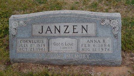 JANZEN, CORNELIUS - Grant County, Oklahoma | CORNELIUS JANZEN - Oklahoma Gravestone Photos