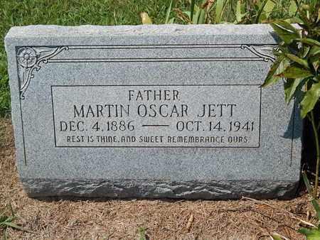 JETT, MARTIN OSCAR - Grant County, Oklahoma | MARTIN OSCAR JETT - Oklahoma Gravestone Photos