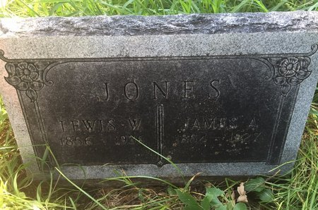 JONES, JAMES A - Grant County, Oklahoma   JAMES A JONES - Oklahoma Gravestone Photos