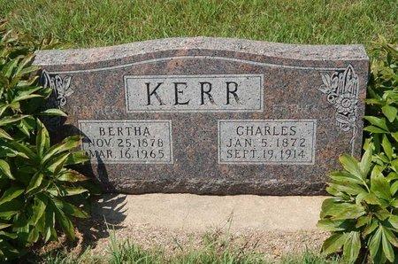 KERR, CHARLES - Grant County, Oklahoma | CHARLES KERR - Oklahoma Gravestone Photos