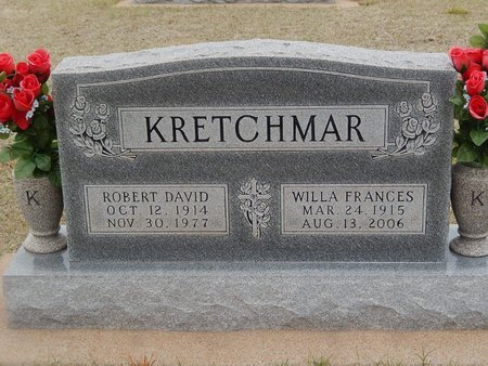 KRETCHMAR, ROBERT DAVID - Grant County, Oklahoma | ROBERT DAVID KRETCHMAR - Oklahoma Gravestone Photos