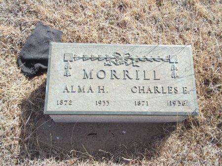 MORRILL, CHARLES E - Grant County, Oklahoma   CHARLES E MORRILL - Oklahoma Gravestone Photos