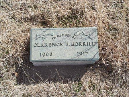 MORRILL, CLARENCE E - Grant County, Oklahoma   CLARENCE E MORRILL - Oklahoma Gravestone Photos