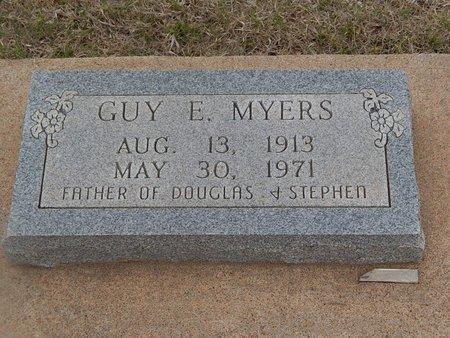 MYERS, GUY E - Grant County, Oklahoma   GUY E MYERS - Oklahoma Gravestone Photos