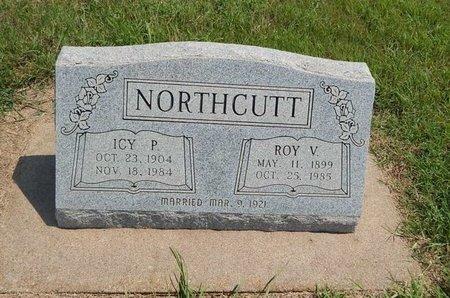 NORTHCUTT, ROY V - Grant County, Oklahoma   ROY V NORTHCUTT - Oklahoma Gravestone Photos
