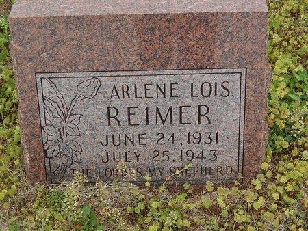 REIMER, ARLENE LOIS - Grant County, Oklahoma   ARLENE LOIS REIMER - Oklahoma Gravestone Photos