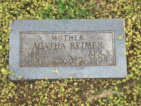 REIMER, AGATHA - Grant County, Oklahoma | AGATHA REIMER - Oklahoma Gravestone Photos