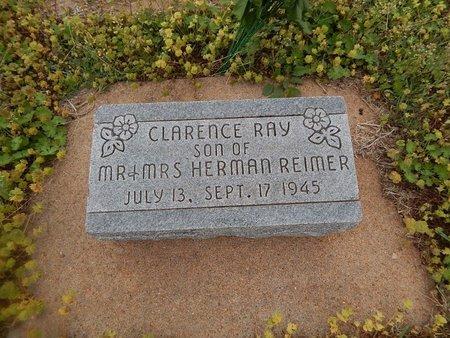 REIMER, CLARENCE RAY - Grant County, Oklahoma   CLARENCE RAY REIMER - Oklahoma Gravestone Photos