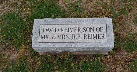 REIMER, DAVID - Grant County, Oklahoma | DAVID REIMER - Oklahoma Gravestone Photos