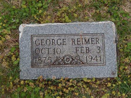 REIMER, GEORGE - Grant County, Oklahoma | GEORGE REIMER - Oklahoma Gravestone Photos