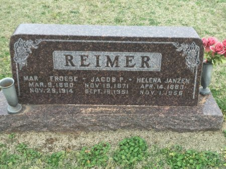 REIMER, HELENA - Grant County, Oklahoma | HELENA REIMER - Oklahoma Gravestone Photos