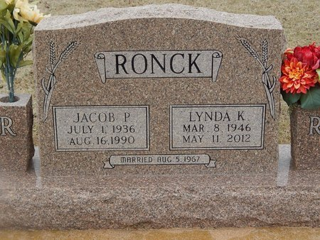 RONCK, JACOB P - Grant County, Oklahoma | JACOB P RONCK - Oklahoma Gravestone Photos