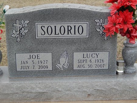 SOLORIO, JOE - Grant County, Oklahoma | JOE SOLORIO - Oklahoma Gravestone Photos