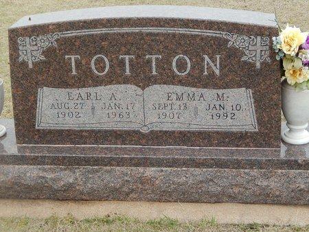 TOTTON, EARL A - Grant County, Oklahoma | EARL A TOTTON - Oklahoma Gravestone Photos