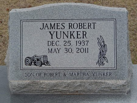 YUNKER, JAMES ROBERT - Grant County, Oklahoma | JAMES ROBERT YUNKER - Oklahoma Gravestone Photos