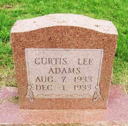 ADAMS, CURTIS LEE - Greer County, Oklahoma   CURTIS LEE ADAMS - Oklahoma Gravestone Photos