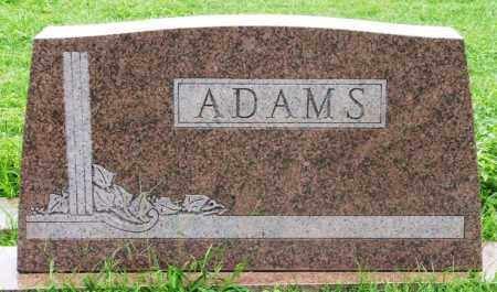"ADAMS, JAMES LEROY ""BUTCH"" - Greer County, Oklahoma 