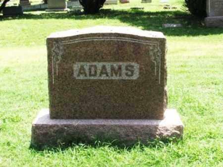 ADAMS, WILLIAM J - Greer County, Oklahoma | WILLIAM J ADAMS - Oklahoma Gravestone Photos