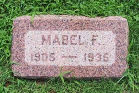 ADAMS, MABEL F - Greer County, Oklahoma | MABEL F ADAMS - Oklahoma Gravestone Photos