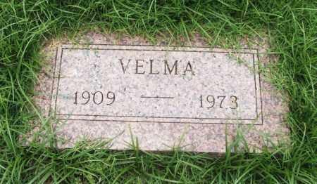 ADAMS, VELMA - Greer County, Oklahoma   VELMA ADAMS - Oklahoma Gravestone Photos