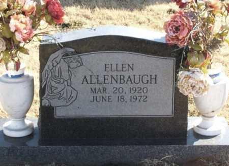 ALLENBAUGH, ELLEN - Greer County, Oklahoma | ELLEN ALLENBAUGH - Oklahoma Gravestone Photos