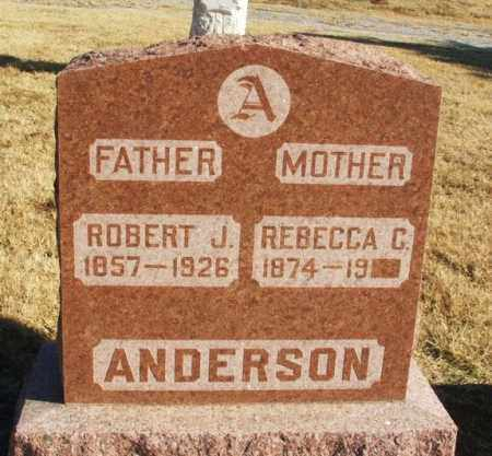 ANDERSON, REBECCA C - Greer County, Oklahoma | REBECCA C ANDERSON - Oklahoma Gravestone Photos