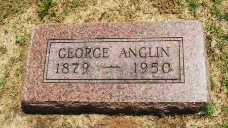 ANGLIN, GEORGE - Greer County, Oklahoma | GEORGE ANGLIN - Oklahoma Gravestone Photos