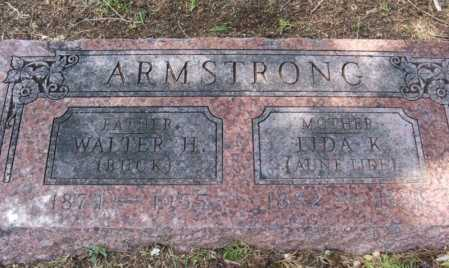 """ARMSTRONG, LIDA K """"AUNT LIDE"""" - Greer County, Oklahoma 