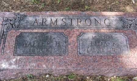 "ARMSTRONG, WALTER H ""BUCK"" - Greer County, Oklahoma | WALTER H ""BUCK"" ARMSTRONG - Oklahoma Gravestone Photos"