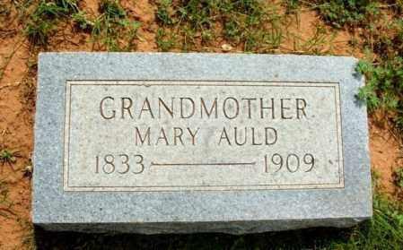 AULD, MARY - Greer County, Oklahoma   MARY AULD - Oklahoma Gravestone Photos