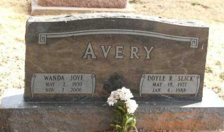 AVERY, WANDA JOYE - Greer County, Oklahoma | WANDA JOYE AVERY - Oklahoma Gravestone Photos