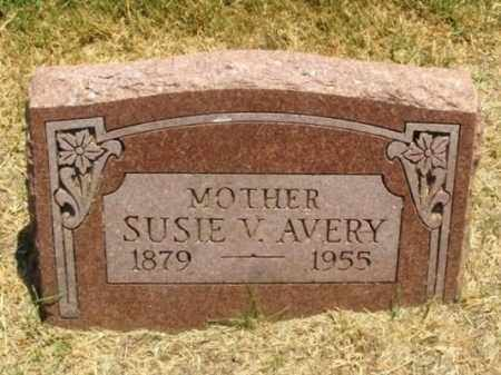 AVERY, SUSIE V - Greer County, Oklahoma | SUSIE V AVERY - Oklahoma Gravestone Photos