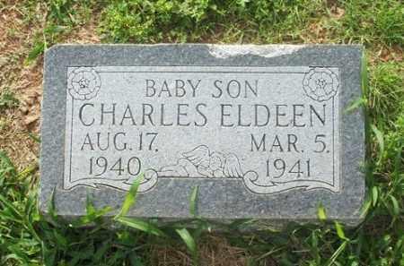 BANISTER, CHARLES ELDEEN - Greer County, Oklahoma | CHARLES ELDEEN BANISTER - Oklahoma Gravestone Photos