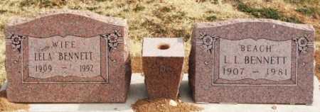 OWENS BENNETT, LELA BELL - Greer County, Oklahoma | LELA BELL OWENS BENNETT - Oklahoma Gravestone Photos