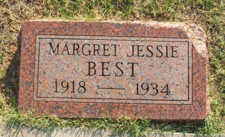 BEST, MARGRET JESSIE - Greer County, Oklahoma | MARGRET JESSIE BEST - Oklahoma Gravestone Photos