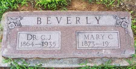 BEVERLY, DR C J - Greer County, Oklahoma | DR C J BEVERLY - Oklahoma Gravestone Photos