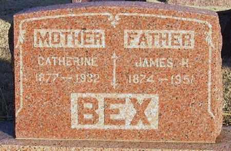 BEX, JAMES H - Greer County, Oklahoma | JAMES H BEX - Oklahoma Gravestone Photos