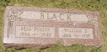 PHELPS BLACK, BESS - Greer County, Oklahoma | BESS PHELPS BLACK - Oklahoma Gravestone Photos