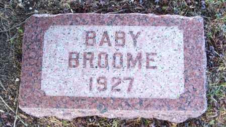 BROOME, BABY - Greer County, Oklahoma | BABY BROOME - Oklahoma Gravestone Photos