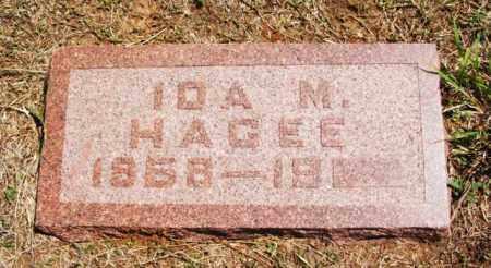 THOMPSON HAGEE, IDA MAY - Greer County, Oklahoma   IDA MAY THOMPSON HAGEE - Oklahoma Gravestone Photos