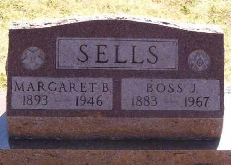 SELLS, BOSS JOHNSON - Greer County, Oklahoma | BOSS JOHNSON SELLS - Oklahoma Gravestone Photos