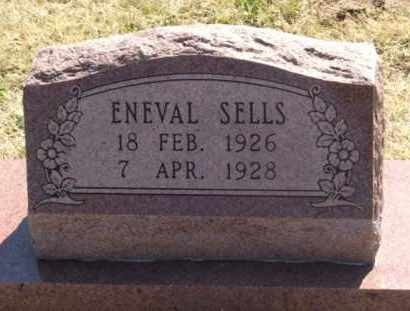 SELLS, ENEVAL - Greer County, Oklahoma | ENEVAL SELLS - Oklahoma Gravestone Photos